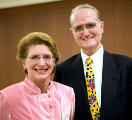 Martha Heineman Pieper, Ph.D., and William J. Pieper, M.D.